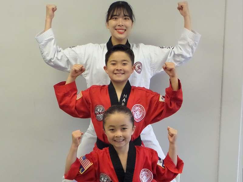 kids martial arts lesson in Mountlake Terrace